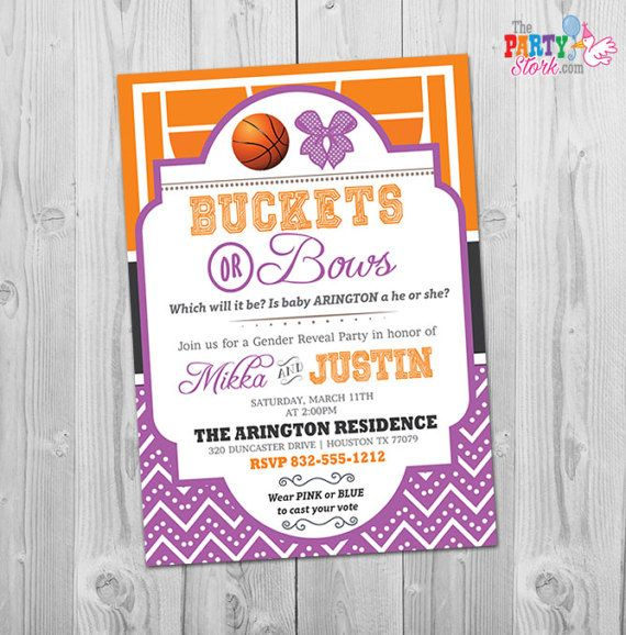 36 best Gender Reveal Party Invitations images on Pinterest Gender