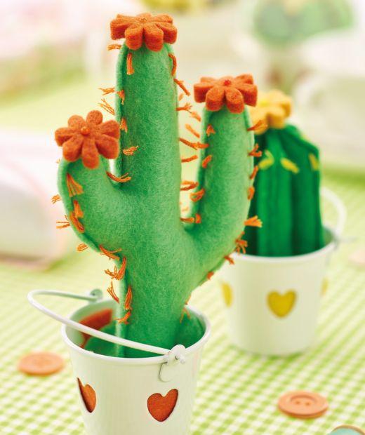 Felt Cactus Pincushions