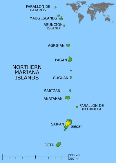 Northern Mariana Islands re-calibrated to the new earth resonances on 23rd March 2015.
