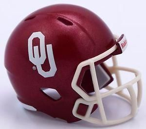 1840a69be Oklahoma Sooners Helmet Riddell Pocket Pro VSR4 Style Bulk No Packaging