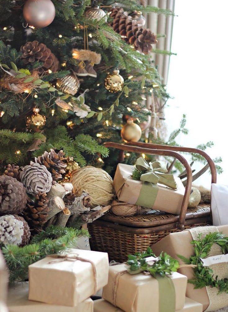 Vintage Weihnachten Nostalgie Weihnachtsschmuck Selber Machen Geschenke  Verpacken #weihnachtsdeko #ideen #christmasdecoration