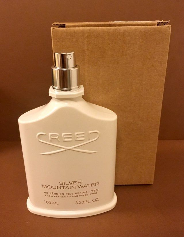 New And Authentic Creed Silver Mountain Water Eau De Parfum 3 3oz 100ml Tester Never Used Or Tested Comes In A Cre Things To Sell Silver Have A Beautiful Day