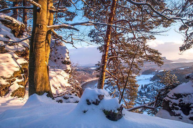 Sun-kissed. Saxon Switzerland by Jenny Rainbow