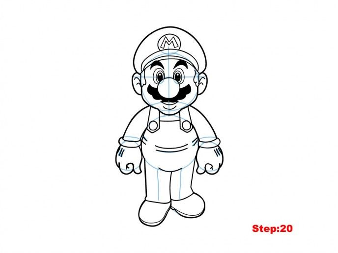 1000 ideas about how to draw mario on pinterest how to for Super cool drawings