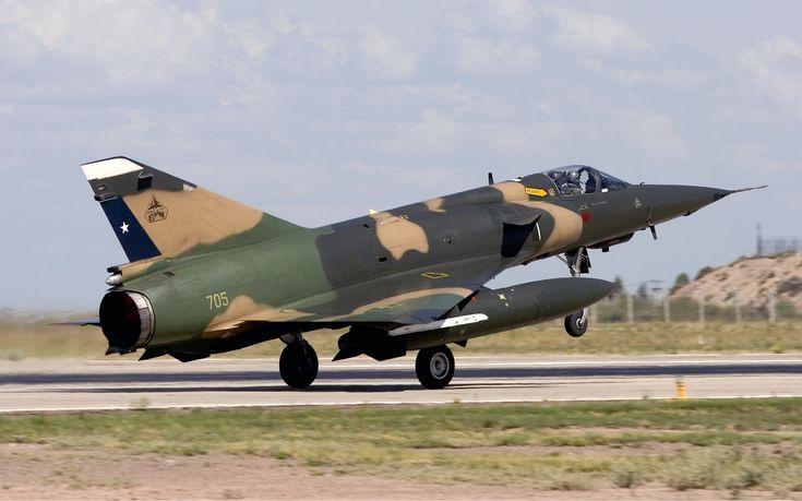 Chilean Air Force Dassault (SABCA) Mirage 5MA Elkan N° 705.