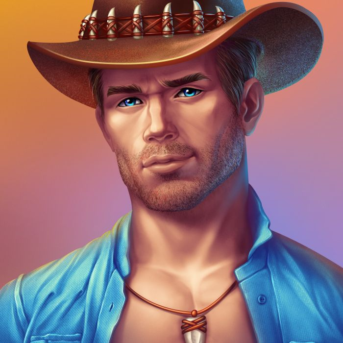 Graphic design of character for the game slot machine. More our works you can see here: http://slotopaint.com/characters/