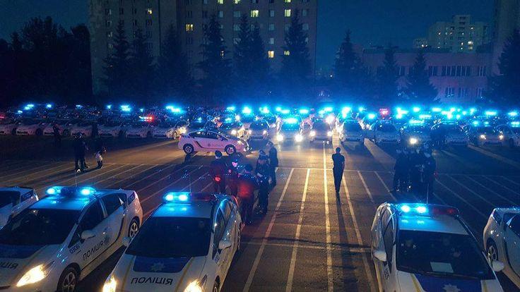 Кому разрешено ездить с синими мигалками в Украине