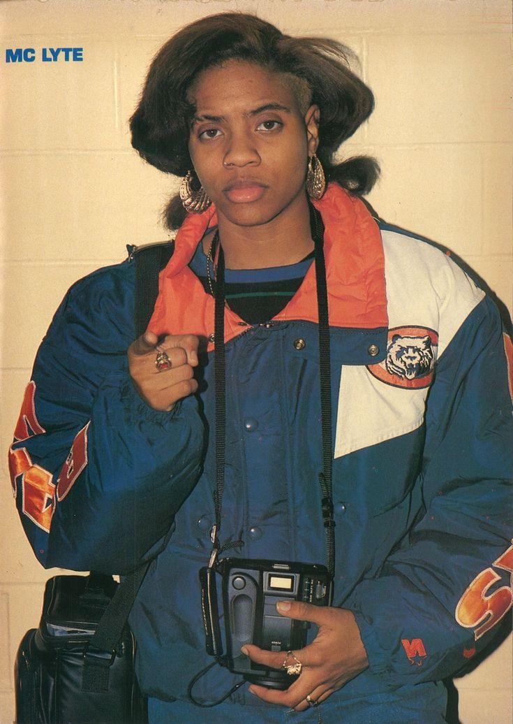 """90shiphopraprnb: """"MC LYTE (1990) """""""