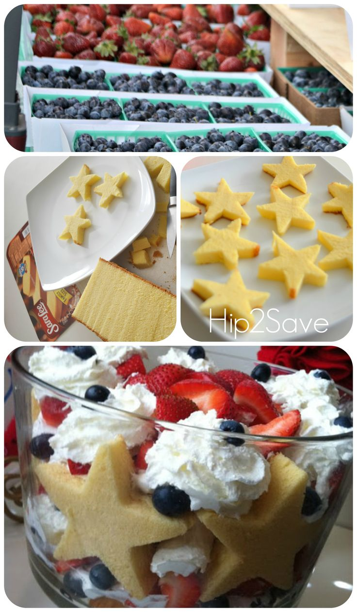 Patriotic Trifle Easy 4th Of July Dessert How To Make