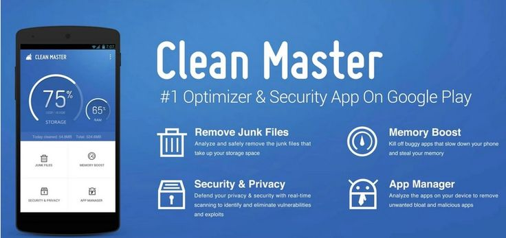 Clean Master APK, the best optimization tool with space cleaner and antivirus, it helps keep your phone clean and safe from viruses.  via @pccrack