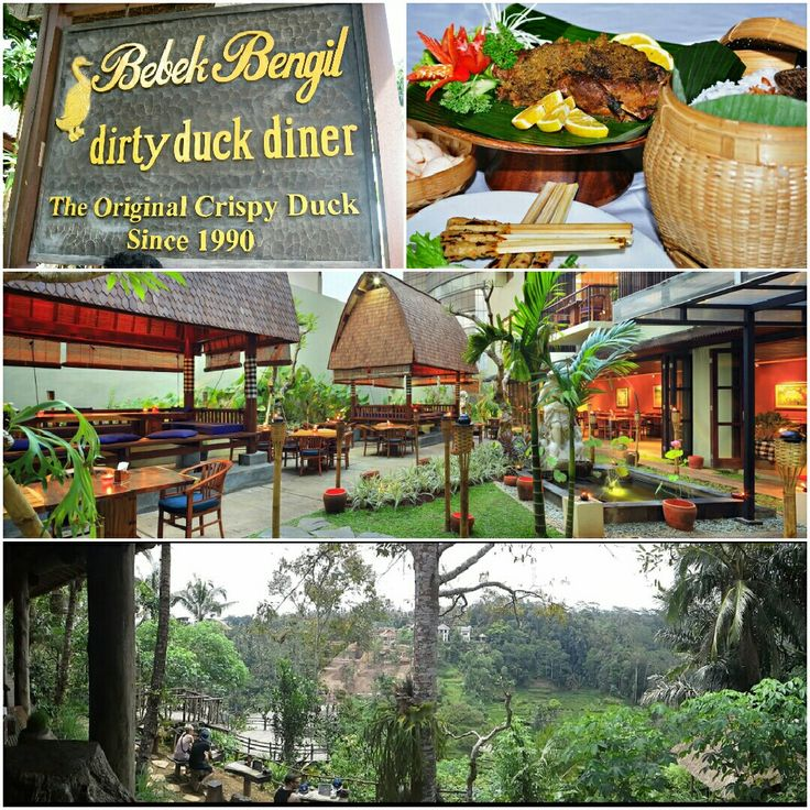 BEBEK BENGIL DIRTY DUCK DINER Jalan Hanoman , Padang Tegal , Ubud
