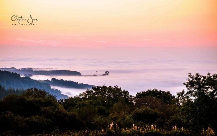 #Landscape #photography - mist on the horizon