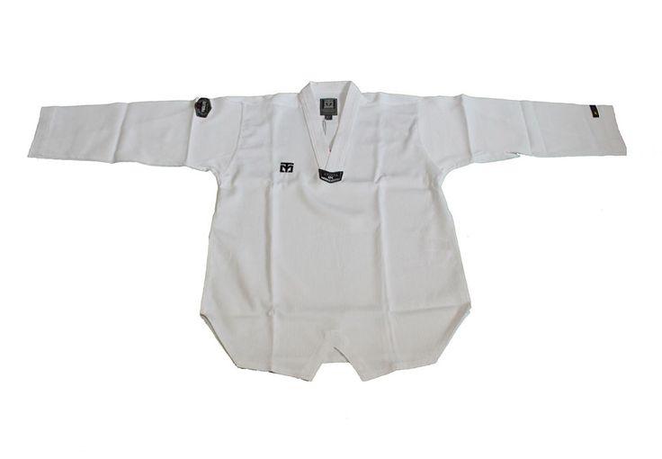 MOOTO Korean TaeKwonDo Korea  NS Extera DOBOK White Jacket Without Pants Uniform…