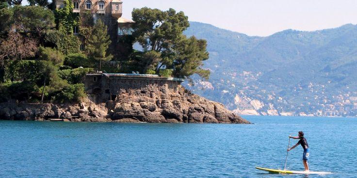 SUP Excursion inside the Marine Protected Area of Portofino