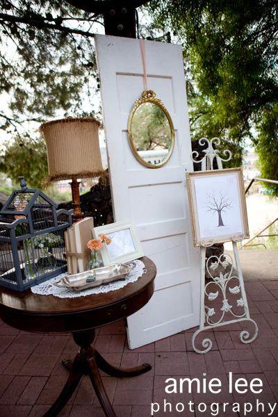 Rust and Lace: aqua vintage wedding