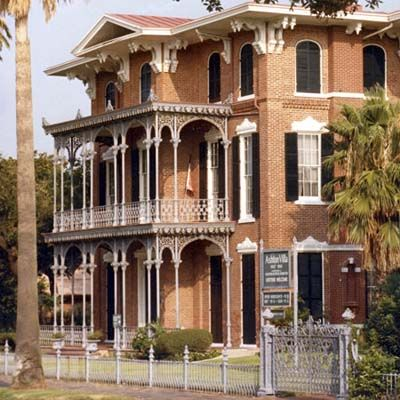 Photo: Courtesy Galveston Island Convention & Visitors Bureau | thisoldhouse.com | from Halloween's Best Haunted Historical House Tours