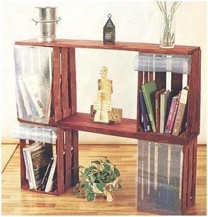 Cajones de verdura mueble reciclado pinterest for Muebles con cajas de madera