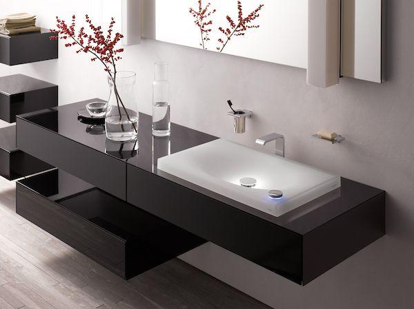 This High Tech Bathroom Combines New Technology With Modern Design Bathroomreno Bathroomgoal Modern Bathroom Sink Minimalist Bathroom Design Modern Bathroom