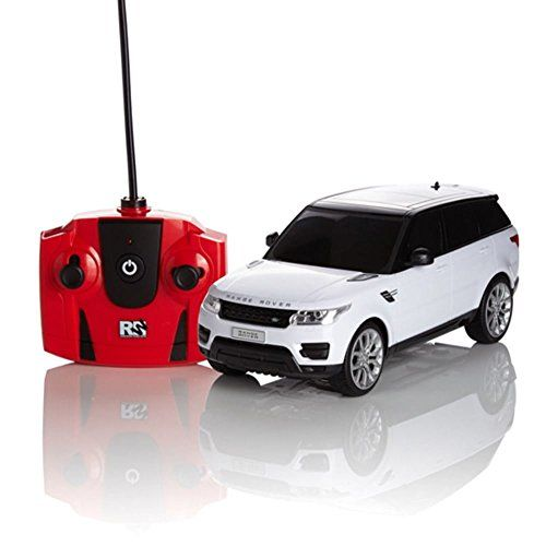 Radio+Remote+Controlled+RC+Car+Range+Rover+Sport+White+Scale+1.24+Official