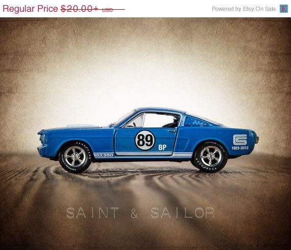 CHRISTMAS in JULY SALE Vintage Muscle Car Photo by shawnstpeter