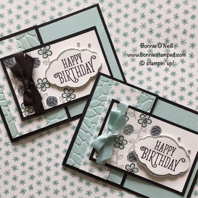 #happybirthdaygorgeous #wholelotoflovelydsp #birthdaycards #cardswap #bonniestamped