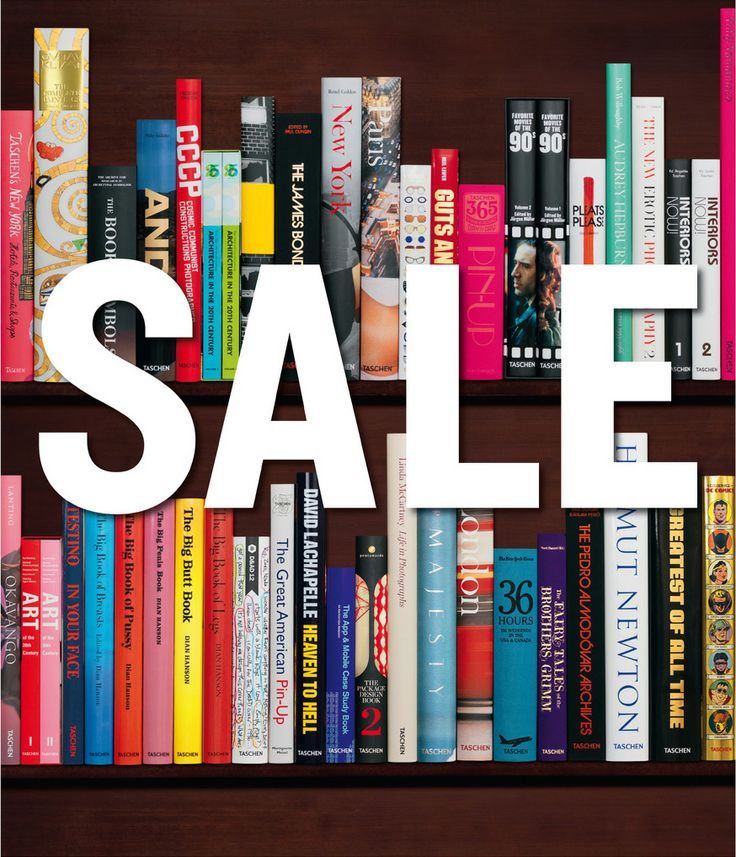 Ready, set, save! Display  slightly damaged books 50-75% off. 4 days only #sale #taschensale