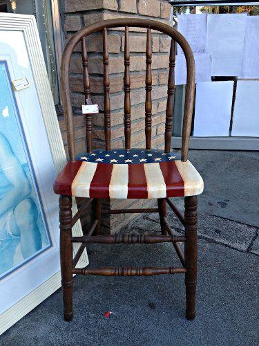 American Flag Chair (375×500)