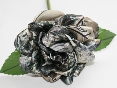 """Camouflage Rose """"MC2""""- X-Large on a Stem 4 1/2 inches wide. $5.99 10 colors or camo designs."""