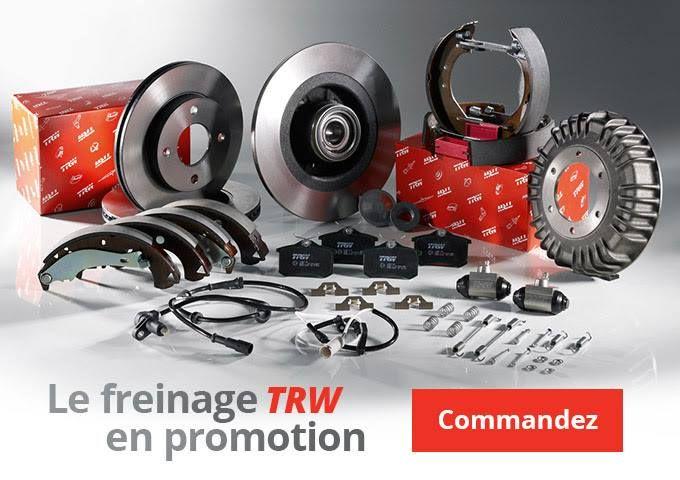 #AW @oscaro  [ Pièces #AUTO ] Freinage #TRW en promotion jusqu'à -70%  Livraison GRATUITE avec #Oscaro !  http://tidd.ly/4ac73724