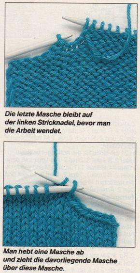 Schulterschrägungen   Tichiro - knits and cats