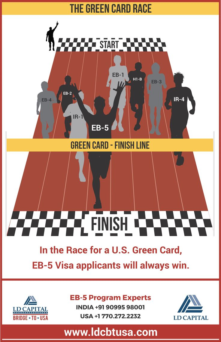 EB 5 Visa – The fastest way to get a USA Green Card for applicant, spouse and unmarried children below 21 years by Investing $500000. Apply now and win the Race!!  For More Details Call Now  #india +91 90995 98001 #usa +1 770 272 2232 www.ldcbtusa.com