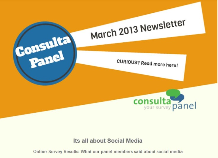 This is our March 2013 newsletter. Read the full version here: http://www.consultapanel.co.za/Newsletters/issue_15/issue_15.htm