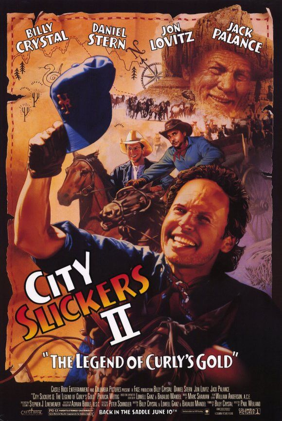 City Slickers 2: The Legend of Curly's Gold 11x17 Movie Poster (1993)