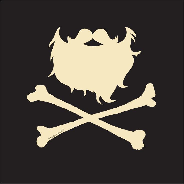 Ponerle una barba así al logo colgando, sin huesos