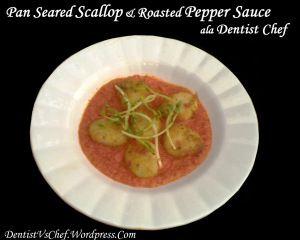 Resep Scallop Panggang Saus Paprika / Grilled Scallop with Roasted Bell Pepper Sauce ala Dentist Chef Scallop atau kerang kampak adalah salah satu seafood kegemaranku. Dagingnya yang gurih dengan t...