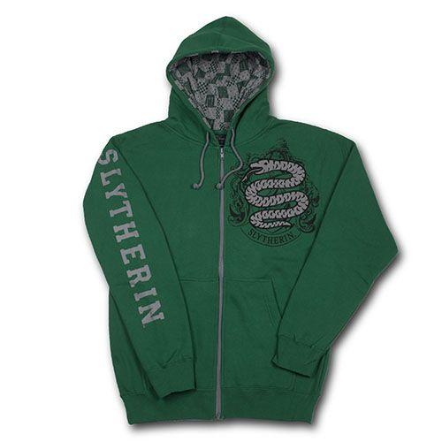 Slytherin™ Adult Hooded Sweatshirt - Wizarding World of Harry Potter in Universal Studios