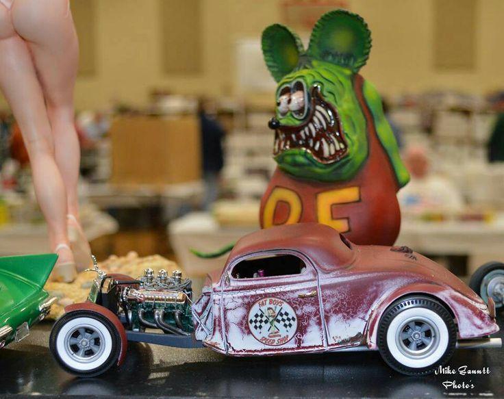 341 Best Rat Fink Weird Oh S Car Toons Images On Pinterest