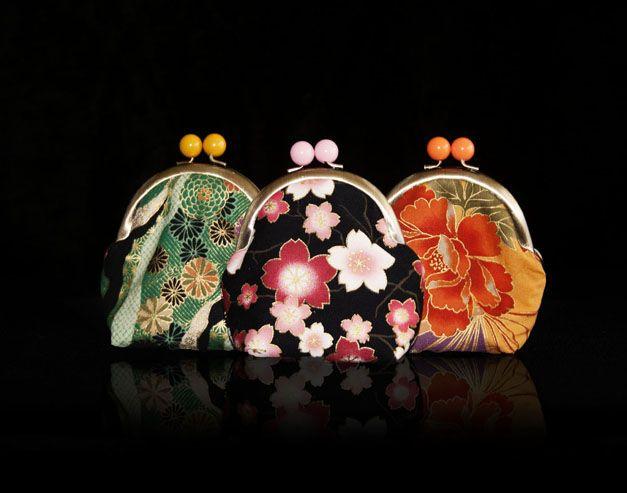 Monedero acolchado  Telas japonesas y 100% handmade.