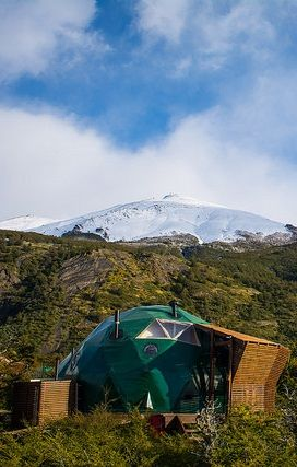 Take a wild break at the foot of the mountain...#Patagonia