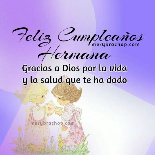 18 best Feliz Cumpleanos Hermano, Hermana images on Pinterest Happy birthday little sister