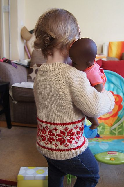 Ravelry: BeeLondon's Flax - christmas jumper