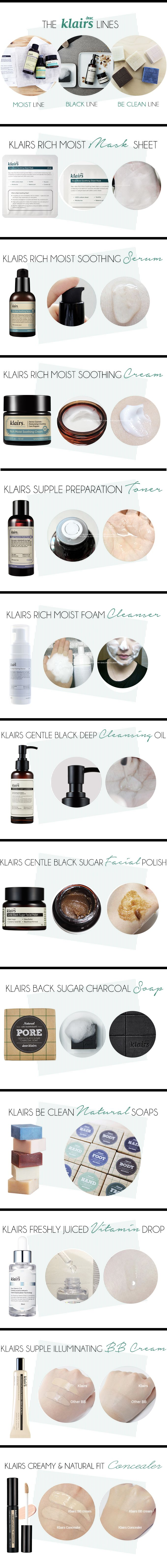 Klairs - best korean skincare line :)