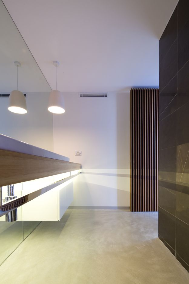 G House Ensuite - Bruce Stafford Architects