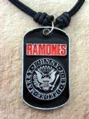 Ramones - 'Logo' Enamelled Pendant