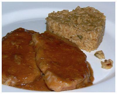 Le palais gourmand: Côtelettes de porc au barbecue