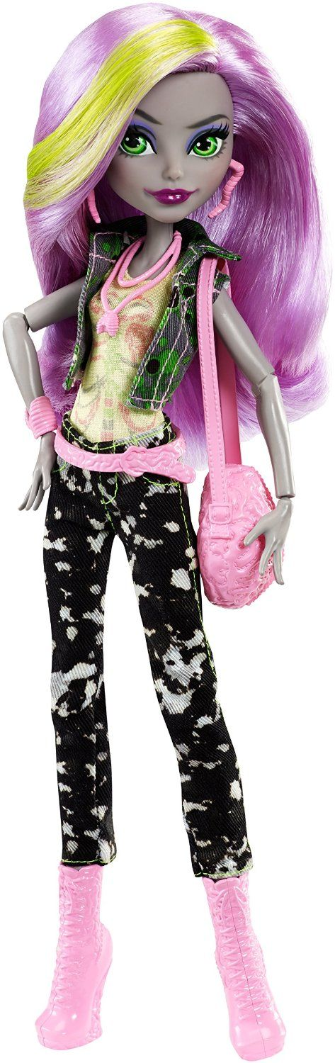 Amazon.es: Monster High - Moanica muñeca fashion (Mattel DTR22): Juguetes y juegos