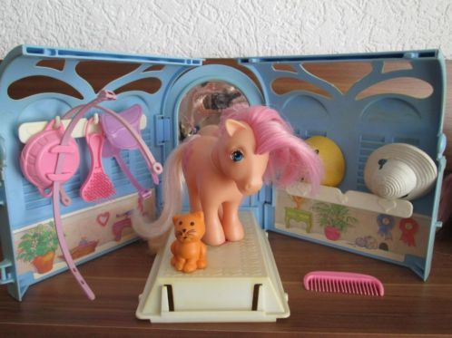 my little pony pretty parlor. I HAD THIS!!!! One of my favorite toys from way back.
