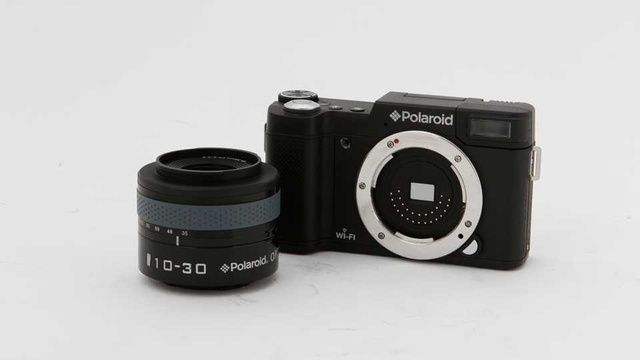 Câmera nova da polaroid!