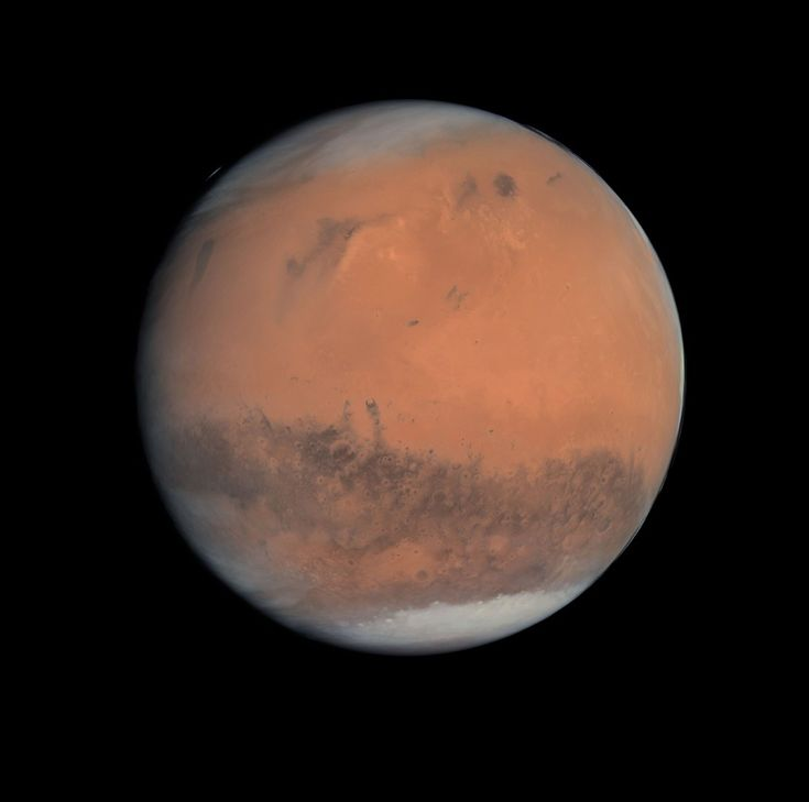 Como são os planetas quando vistos frente a frente? Marte (Foto: NASA/Michael Benson)