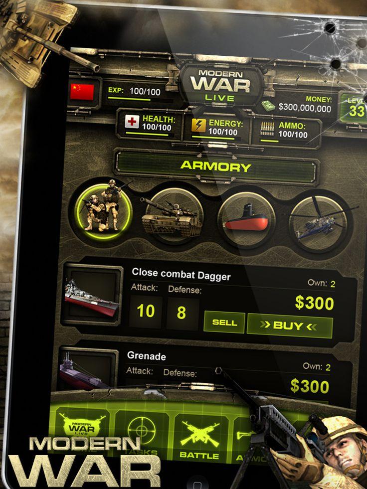 military game ui - Google 검색